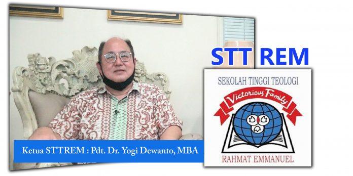 Ketua STTREM Pdt. Dr. Yogi Dewanto, MBA