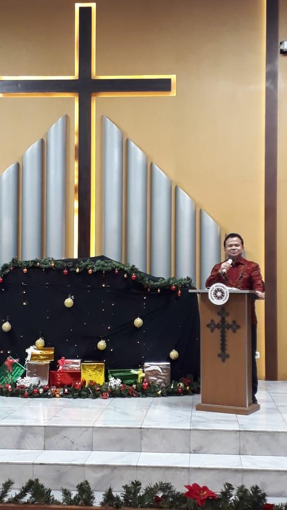 Suasana Ibadah Natal DPP KKK