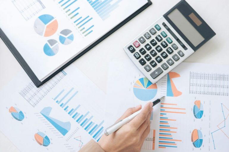 Ilustrasi keuangan