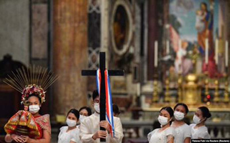 500 tahun ajaran kristen masuk Filipina