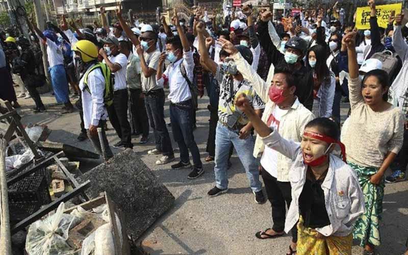 Kudeta di Myanmar