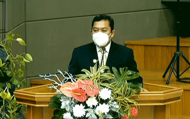 Ketua Umum PGIW Jawa Timur Pdt. Natael Hermawan