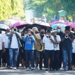 Jemaat GPM Anugerah Ohoijang Membaw Yelim Ke Paroki Ohoijang. Foto GPM