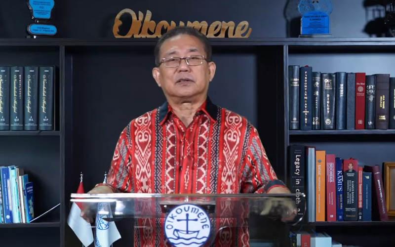 Ketua Umum PGI Pdt Gomar Gultom